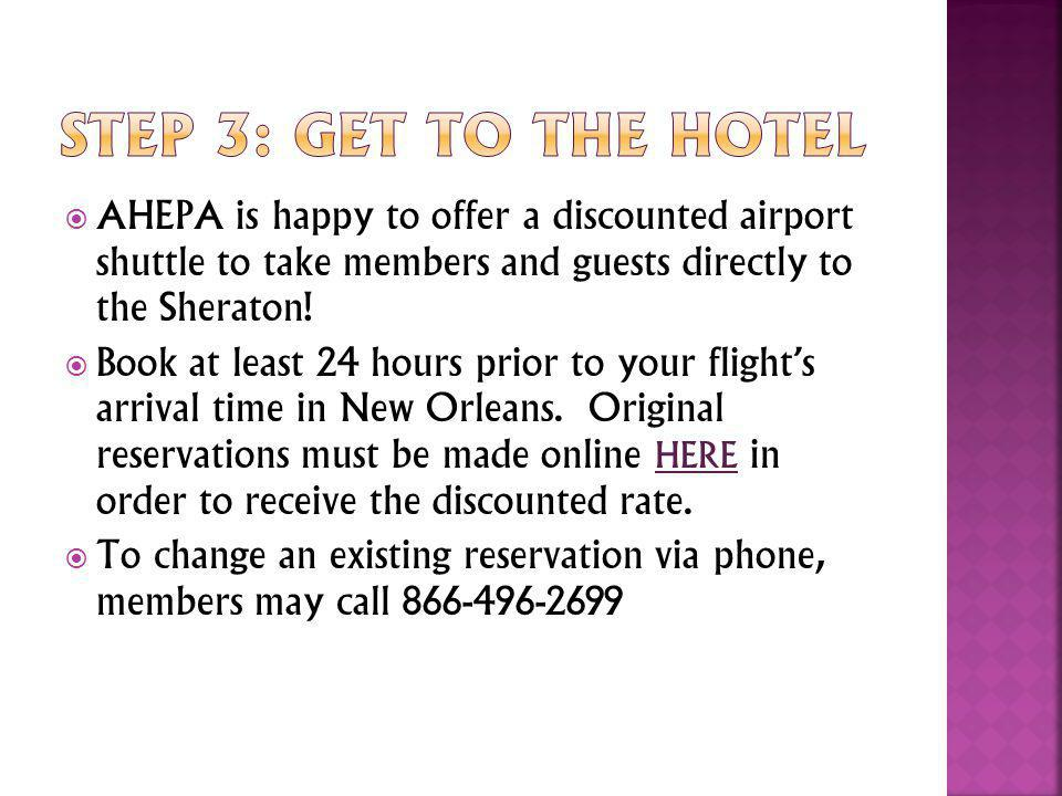 American Airlines is offering AHEPA members a special meeting discount.
