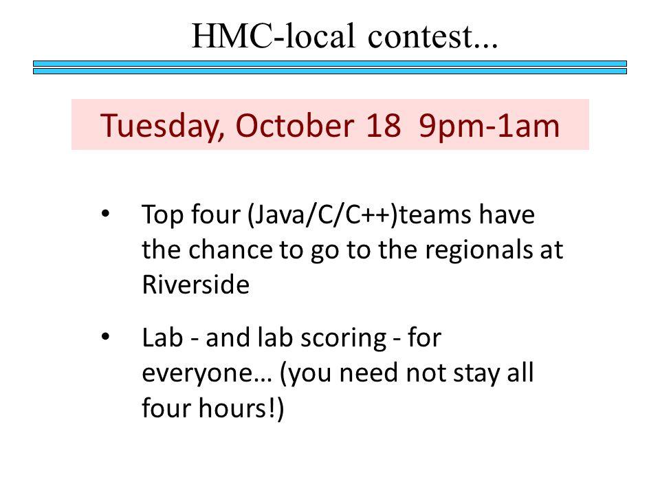 HMC-local contest...