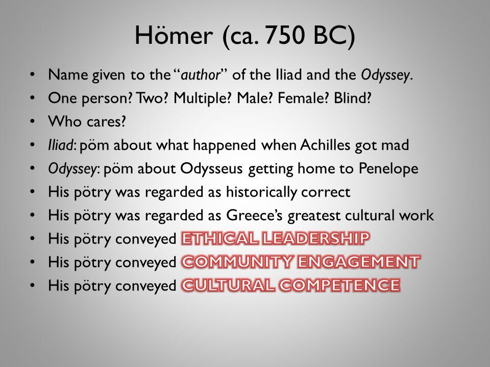 Hömer (ca. 750 BC)
