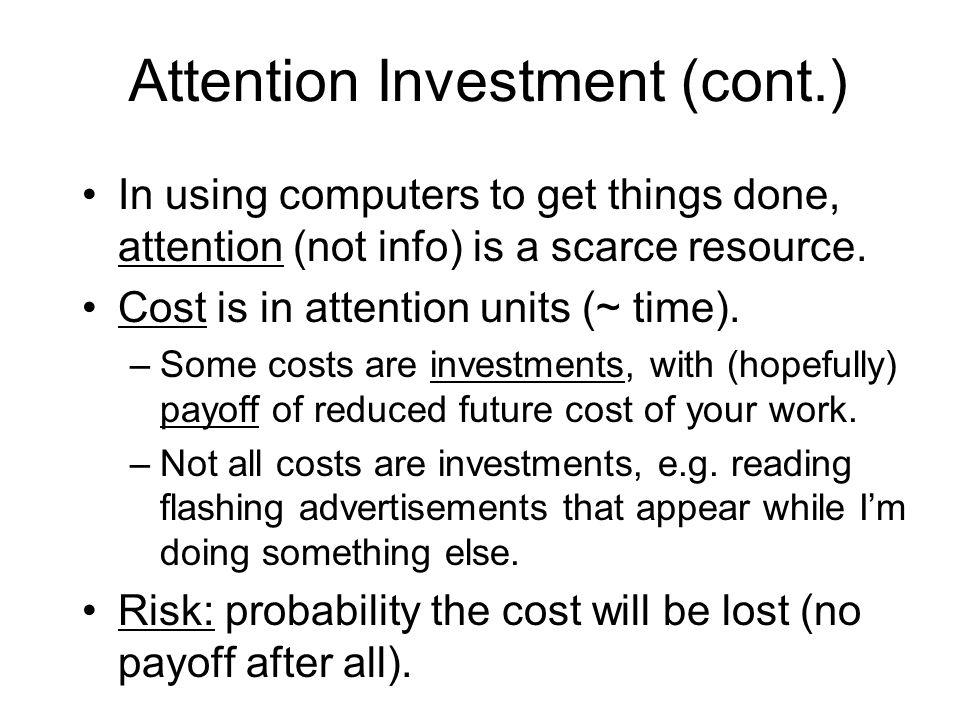 A Think-Aloud Study Attn investment guided 3 of these RQs: –RQ1:Can end users understand assertion propagation.