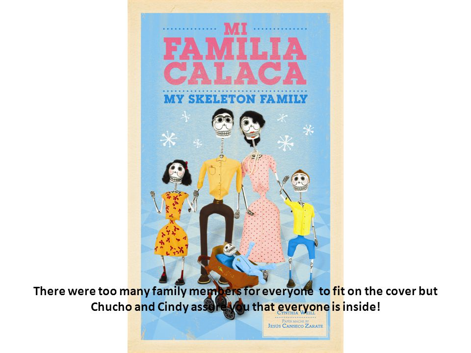 There were too many family members for everyone to fit on the cover but Chucho and Cindy assure you that everyone is inside!
