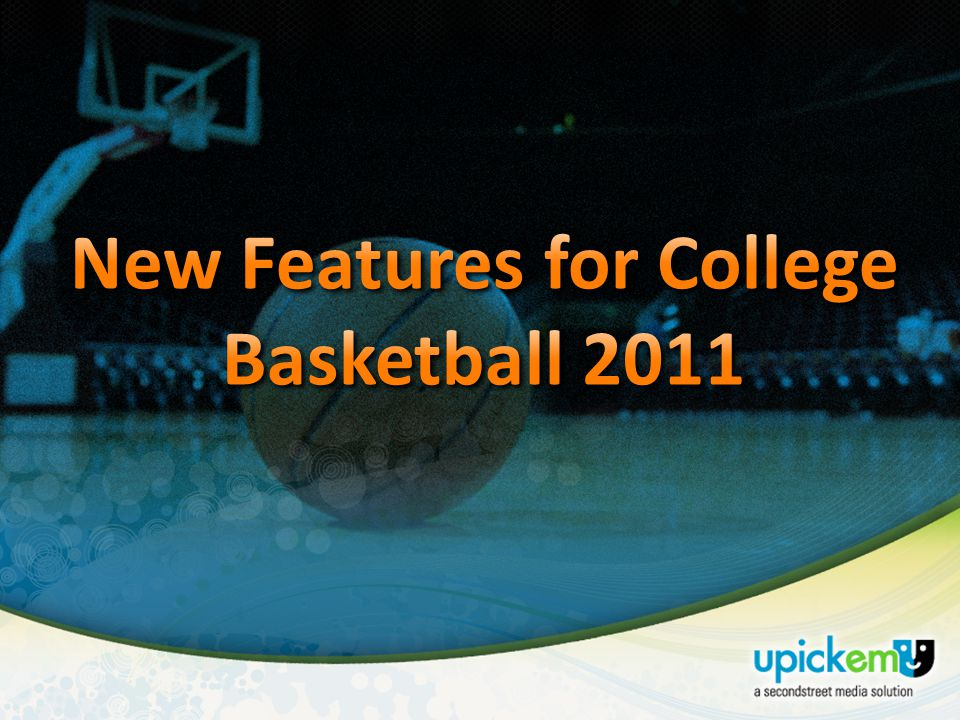 UPICKEM How to Sell College Basketball January 2011