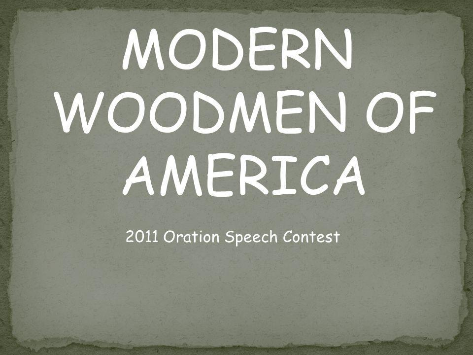 An American Invention is the topic for the 2011 School Speech Contest.