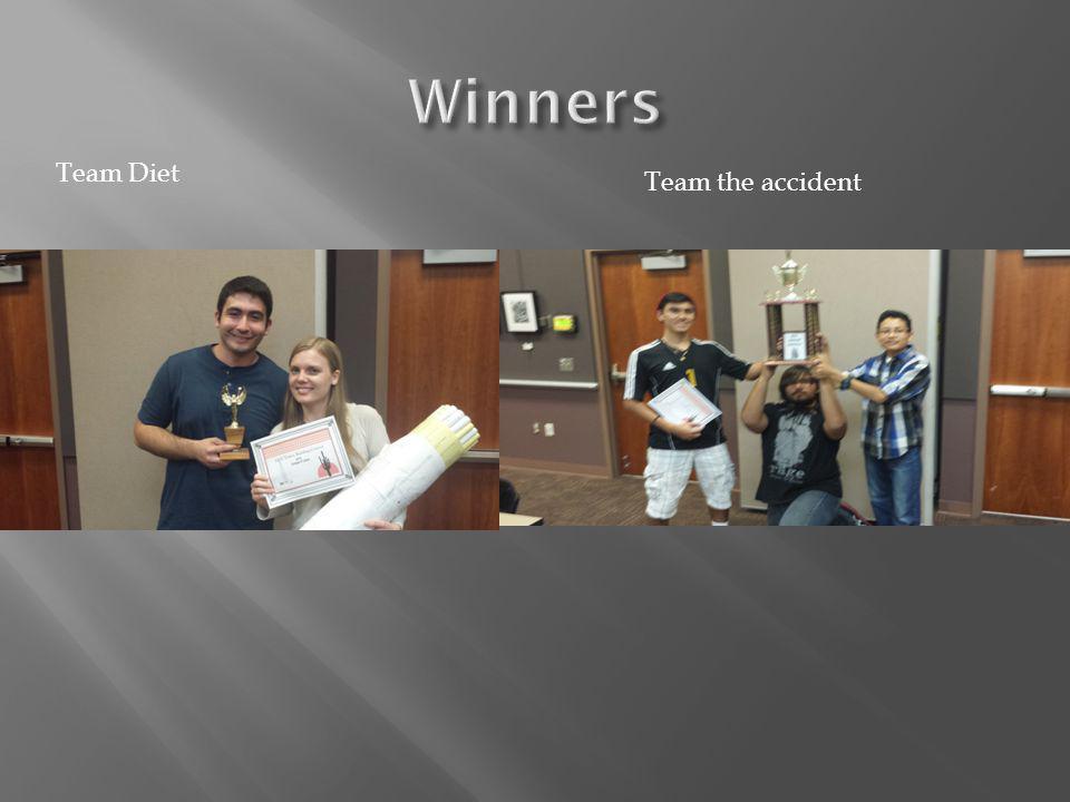 Team Diet Team the accident