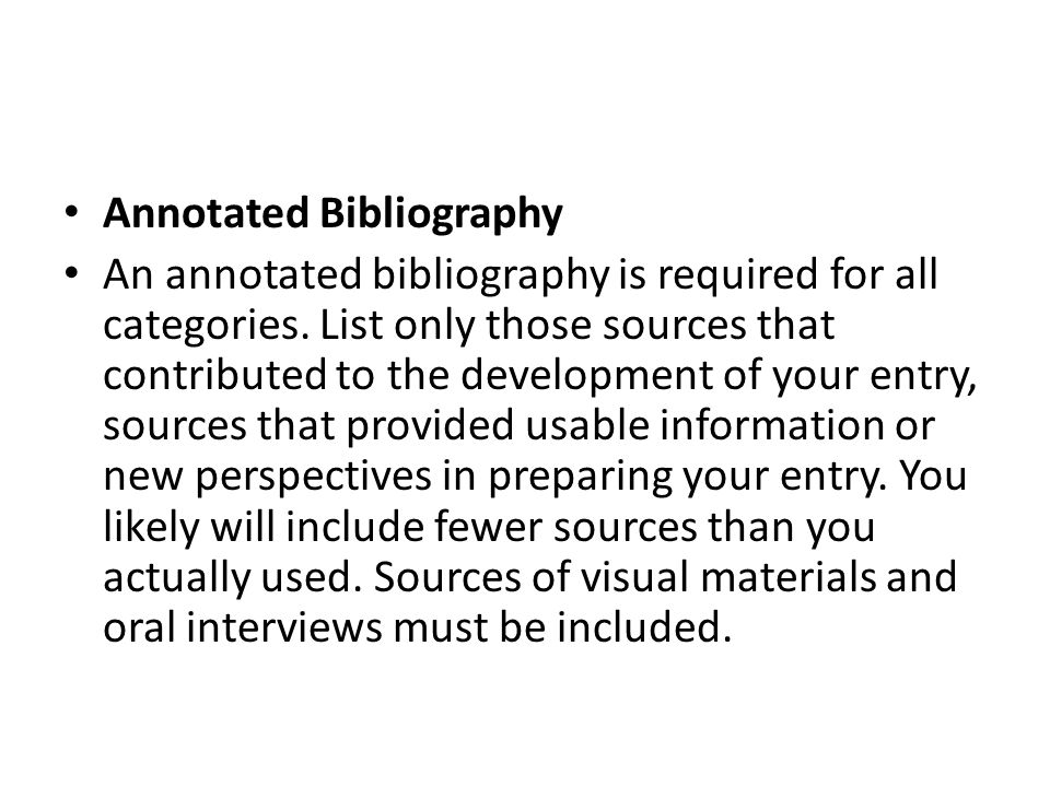 You are required to separate your bibliography into primary and secondary sources.