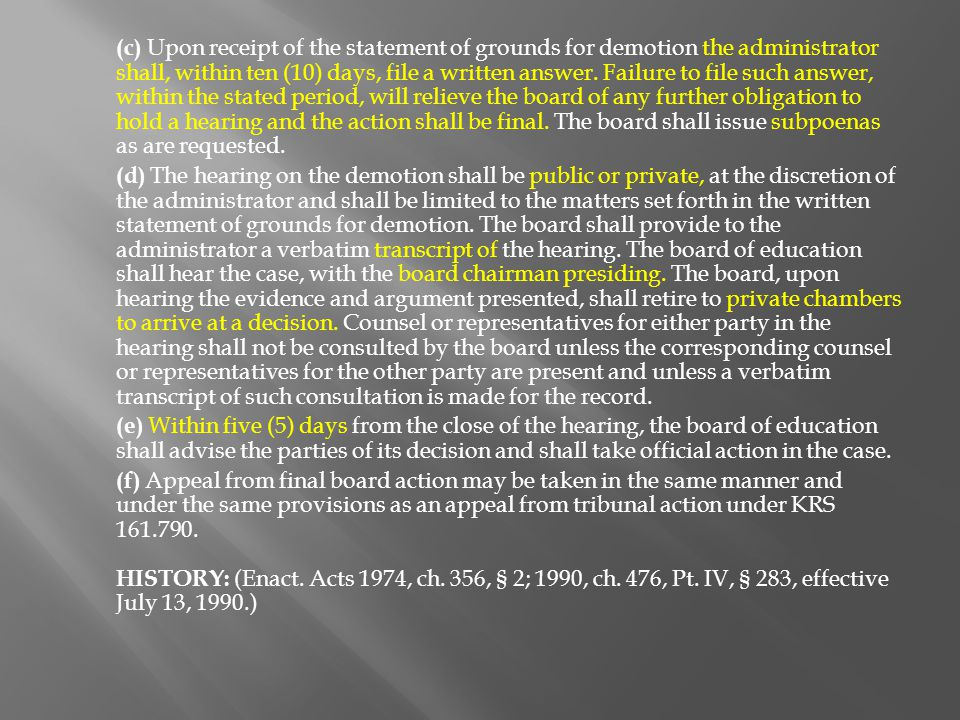 (3) Reduction of responsibility for a teacher may be accompanied by a corresponding reduction in salary provided that written notification stating the specific reason for the reduction shall be furnished to the teacher not later than ninety (90) days before the first student attendance day of the school year or May 15, whichever occurs earlier.