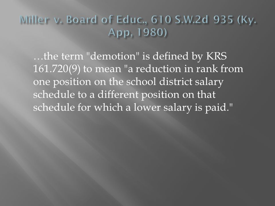 Refer to KRS 161.760(3) is referenced in KRS 161.765 (…by complying with the requirement of KRS 161.760).