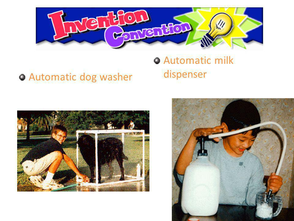 u Automatic dog washer Automatic milk dispenser