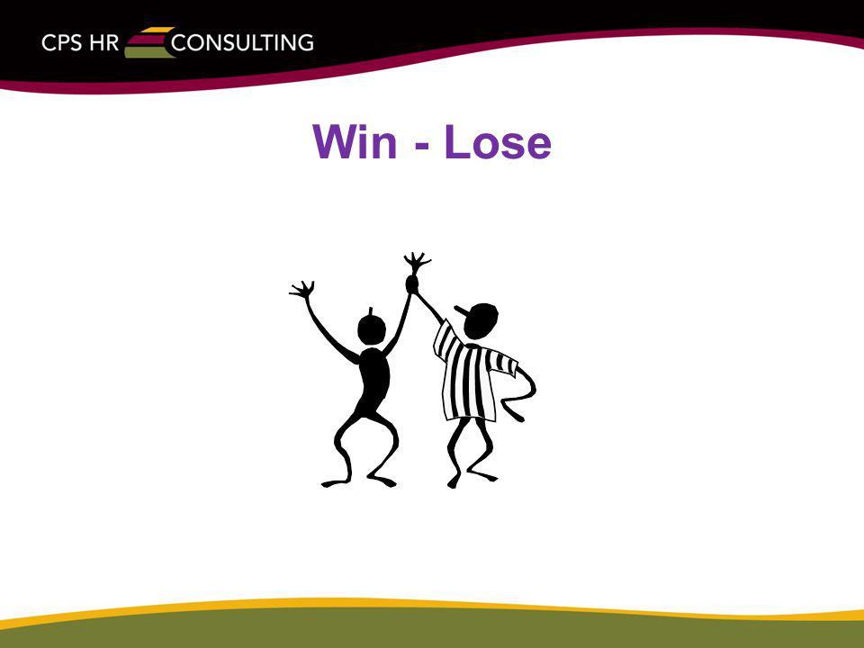 Win - Lose