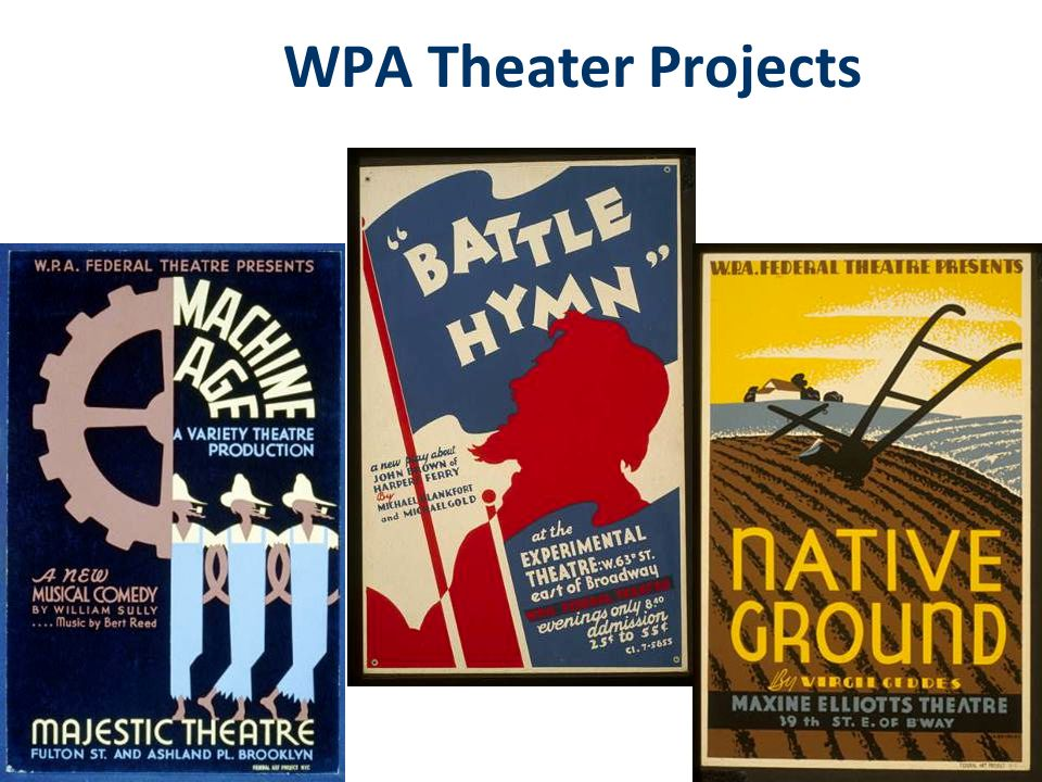 WPA Music Projects