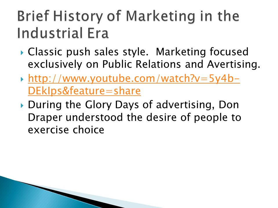 Classic push sales style. Marketing focused exclusively on Public Relations and Avertising.