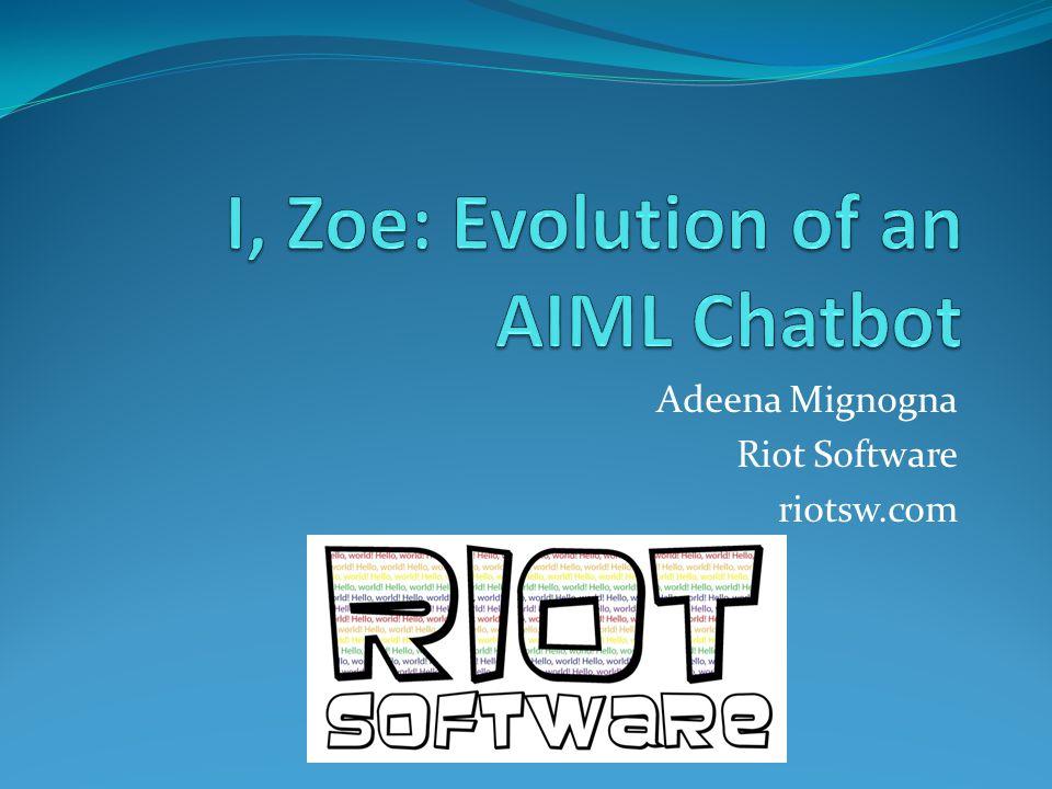 Adeena Mignogna Riot Software riotsw.com