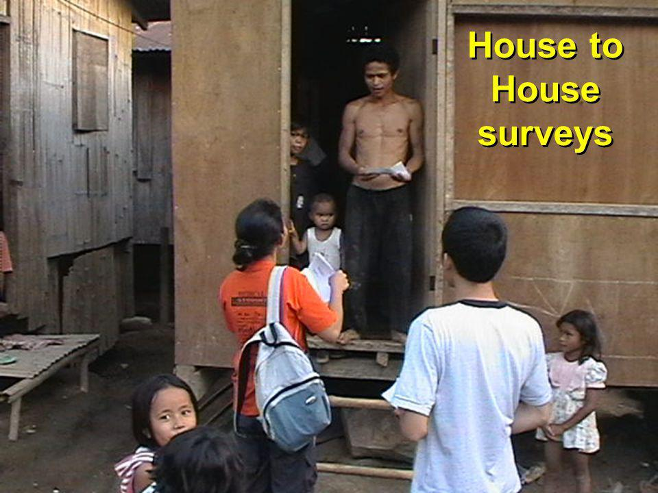 House to House surveys