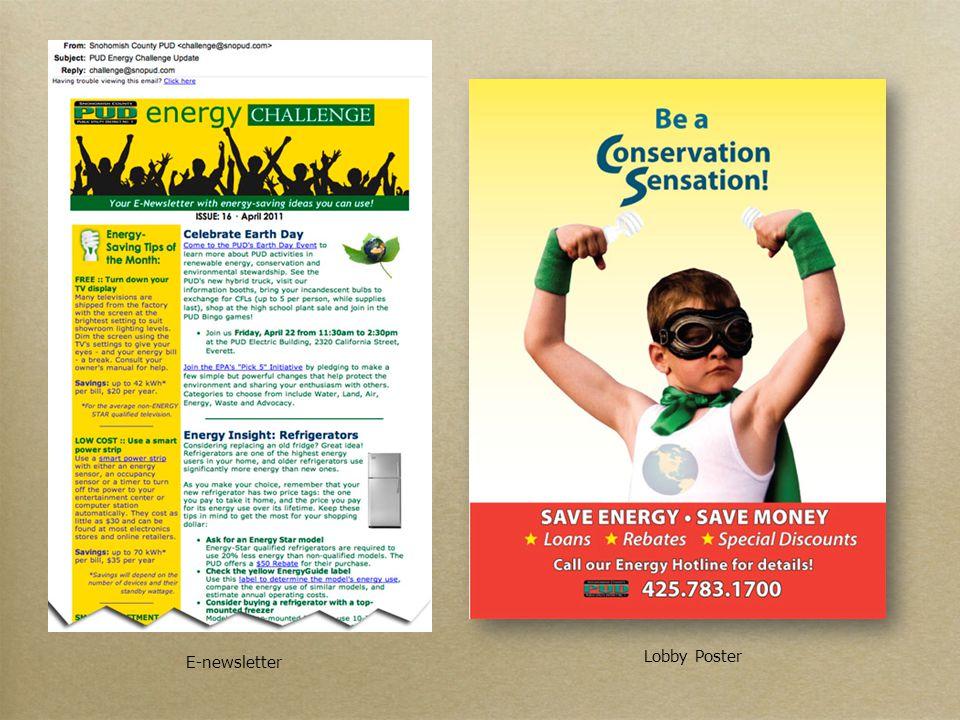 Lobby Poster E-newsletter