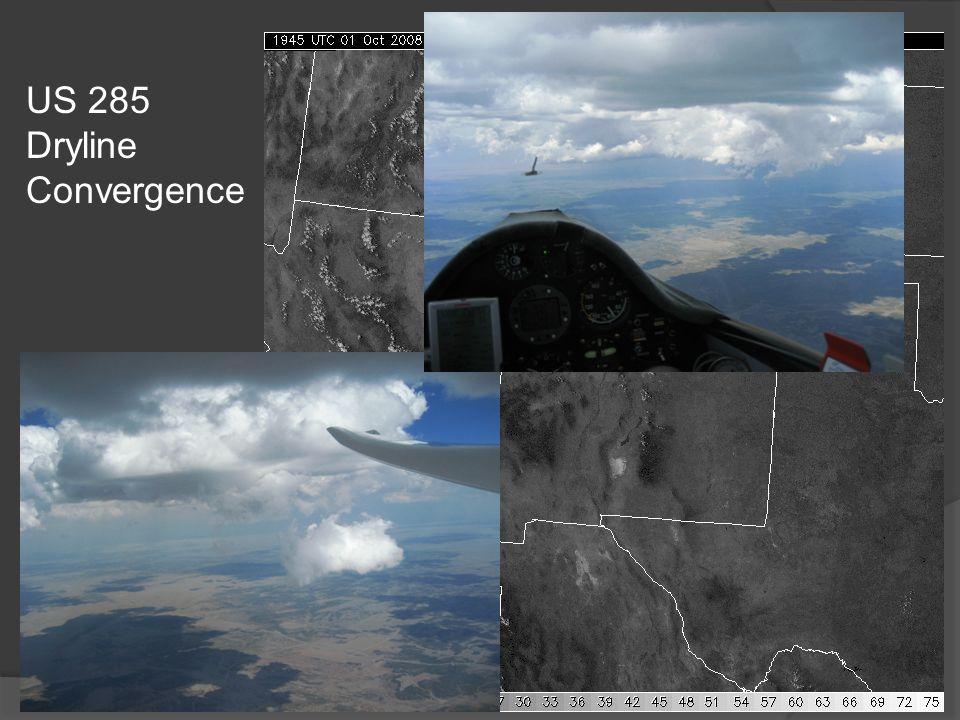 US 285 Dryline Convergence