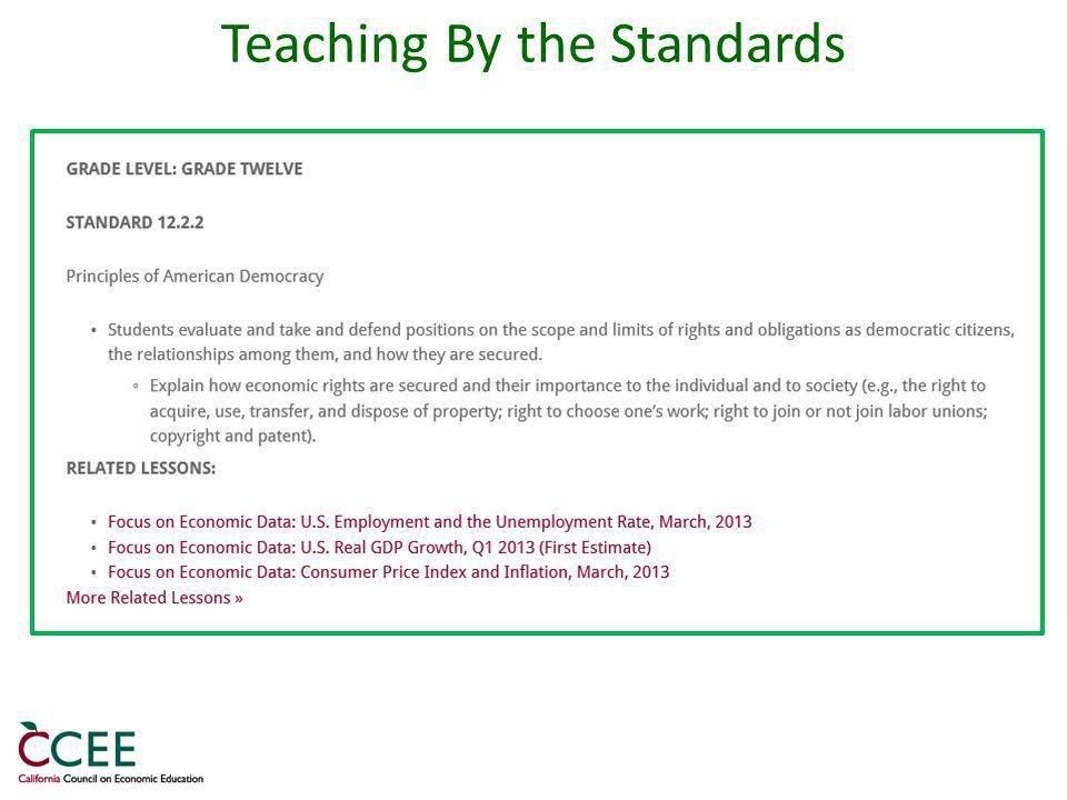 Teaching By the Standards