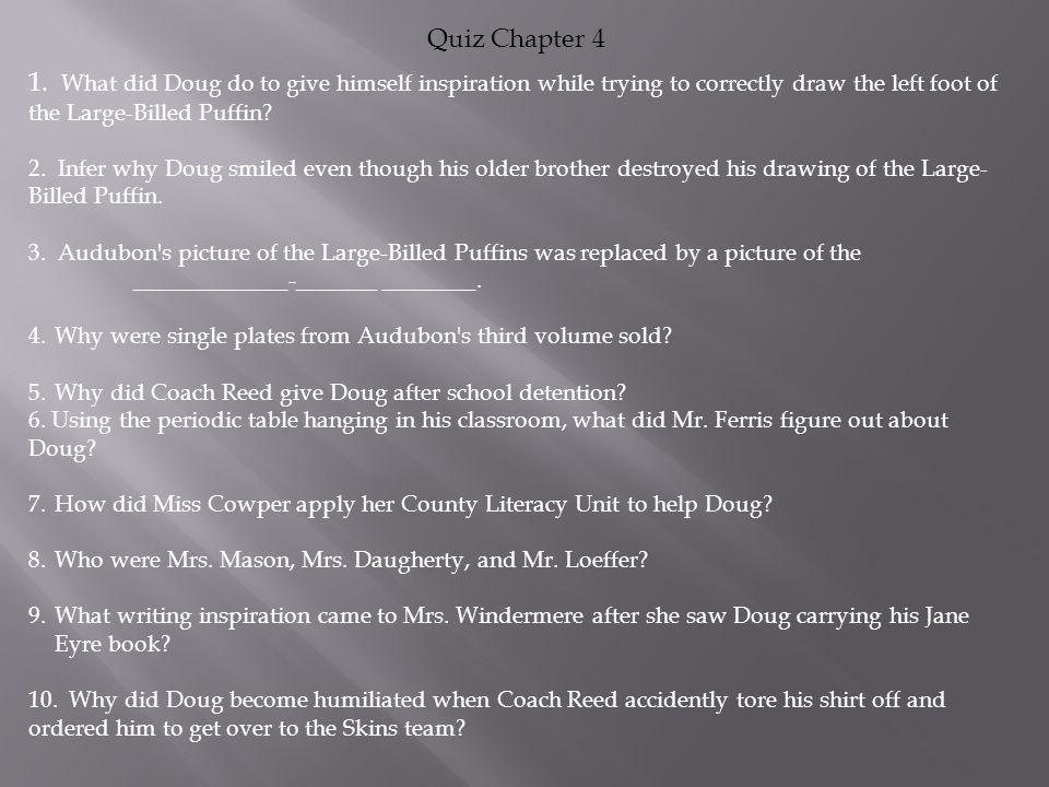 Quiz Chapter 4 1.