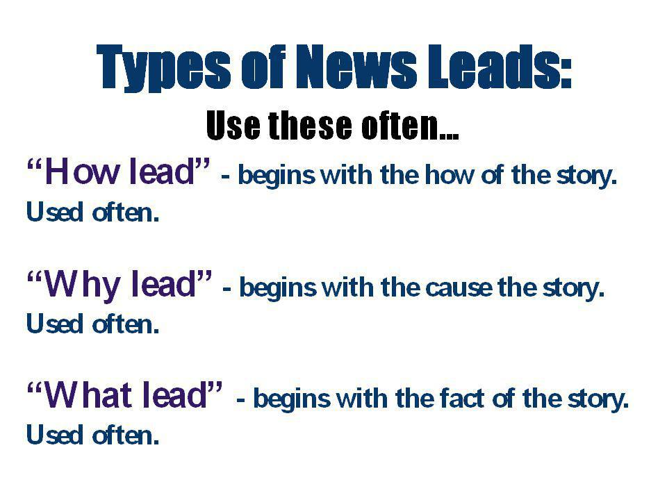 Question: Do we use this type of lead often.Why. Who lead Maybe… probably yes.