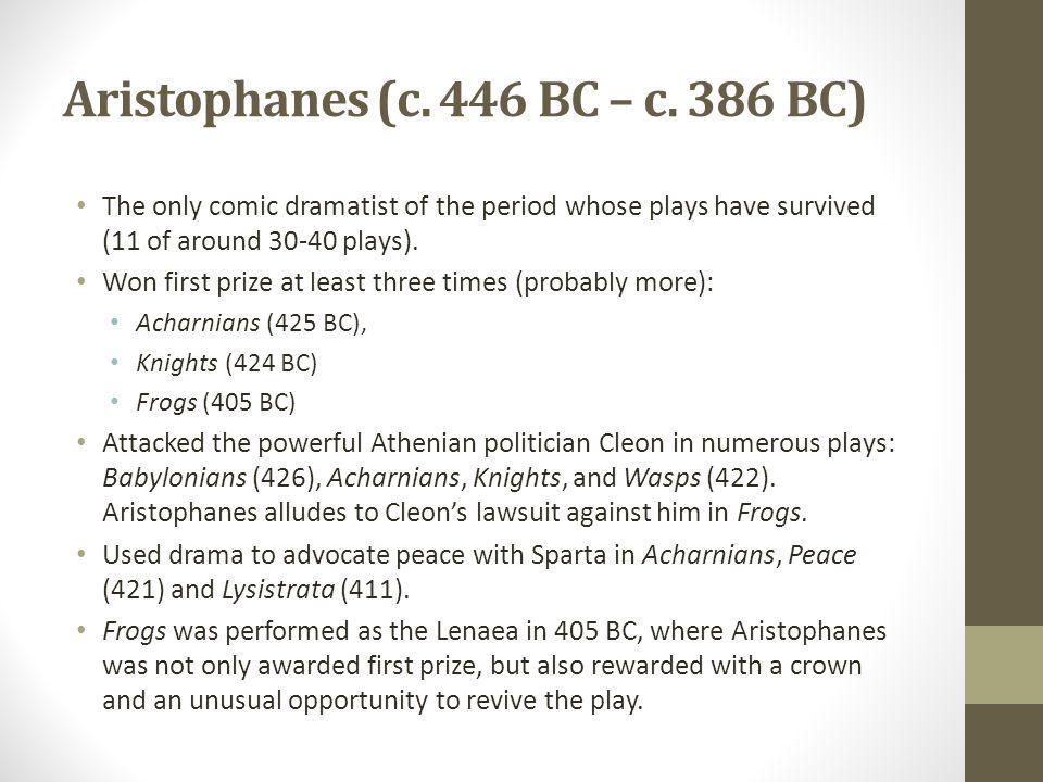 Aristophanes (c. 446 BC – c.