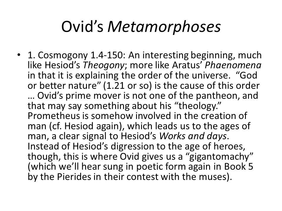 Ovids Metamorphoses 5.250-293 Helicon.