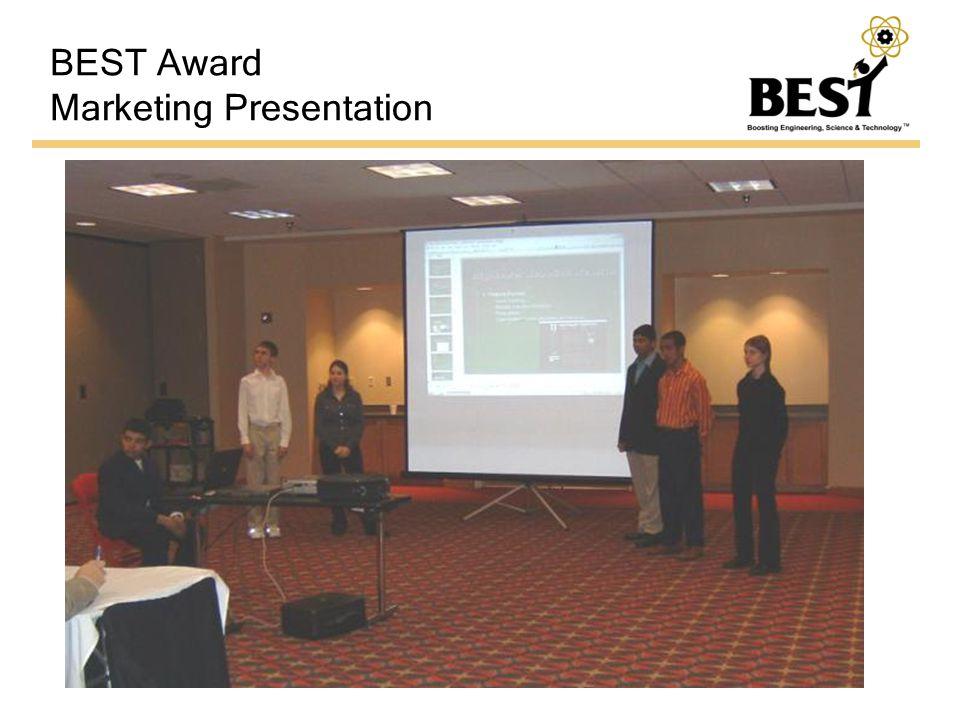 BEST Award Marketing Presentation