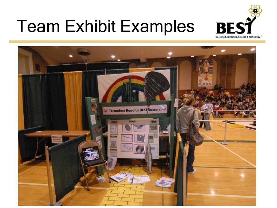 Team Exhibit Examples