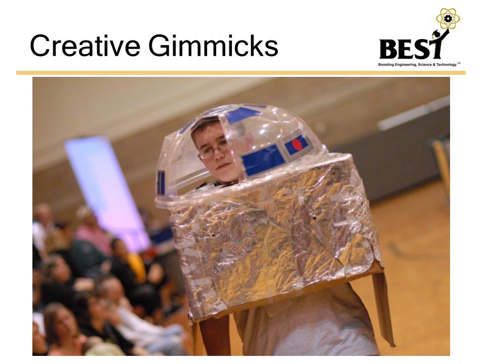 Creative Gimmicks
