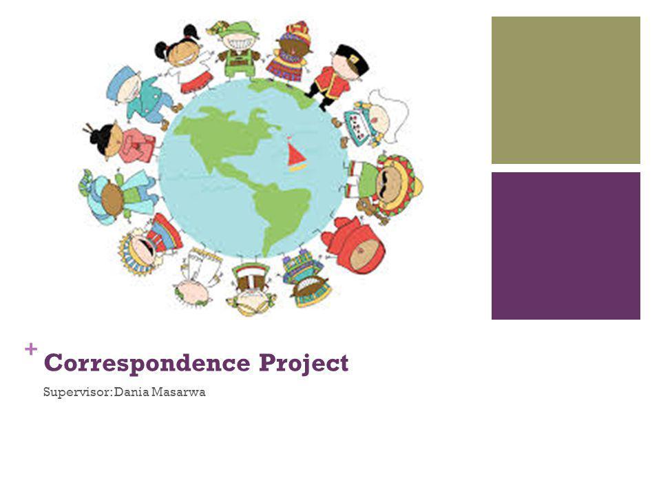 + Correspondence Project Supervisor: Dania Masarwa