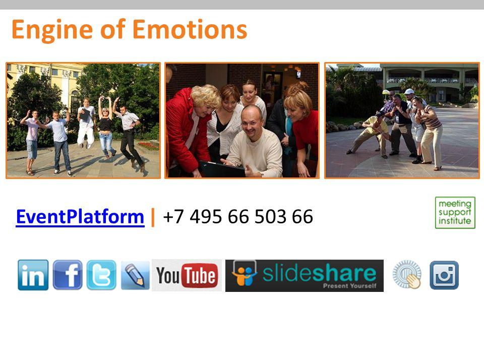 EventPlatformEventPlatform | +7 495 66 503 66