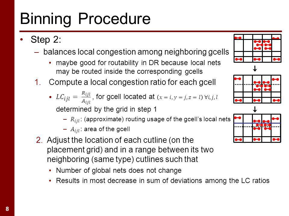 8 Binning Procedure
