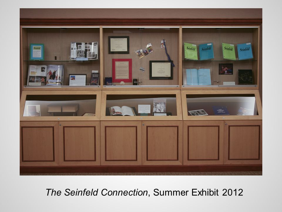 The Seinfeld Connection, Summer Exhibit 2012