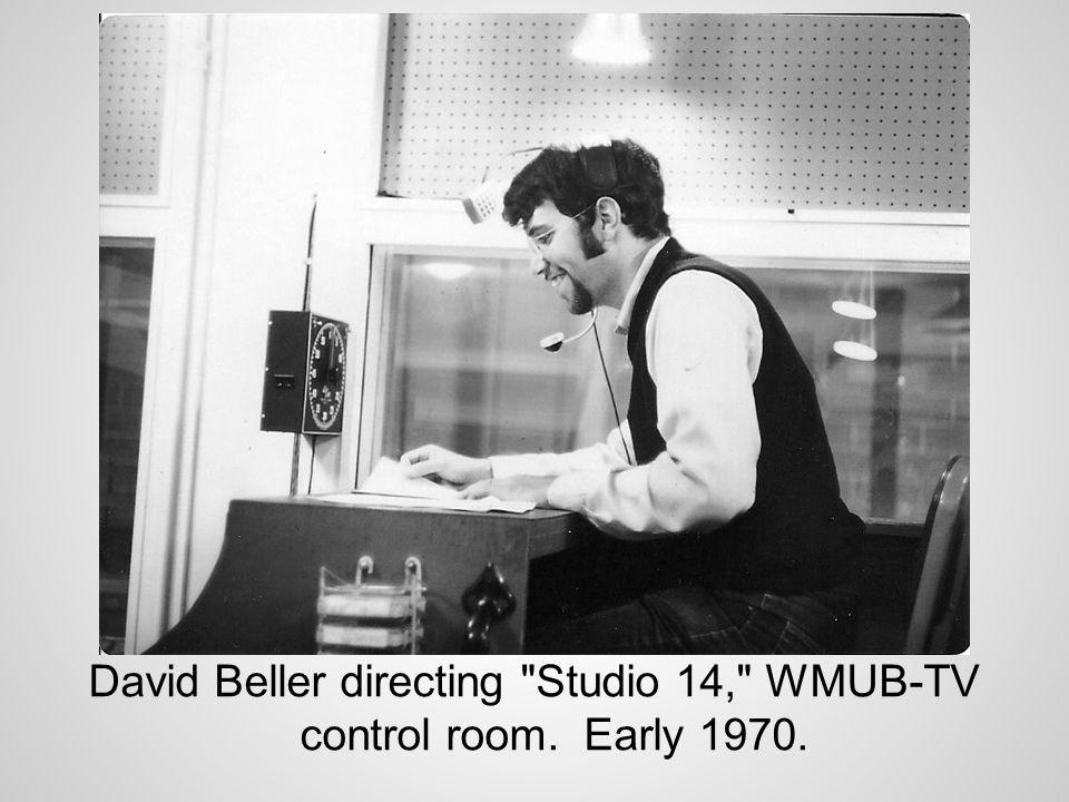 Studio 14 sketch rehearsal.L-R Rick Ludwin, Barb Francis, Jere Kaercher.