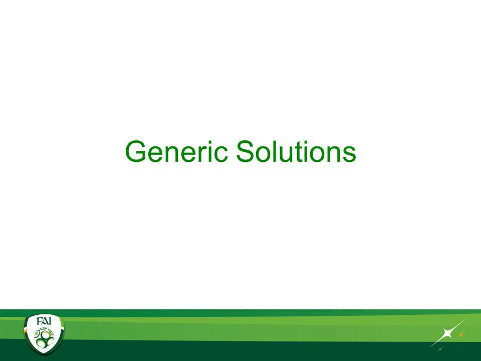 Generic Solutions