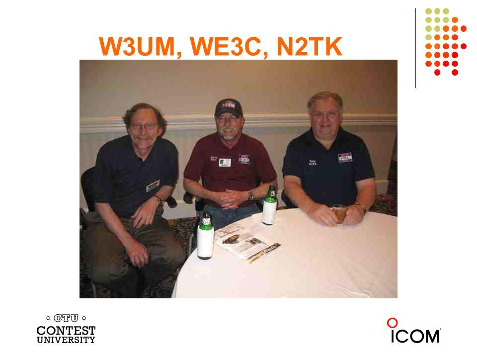 W3UM, WE3C, N2TK