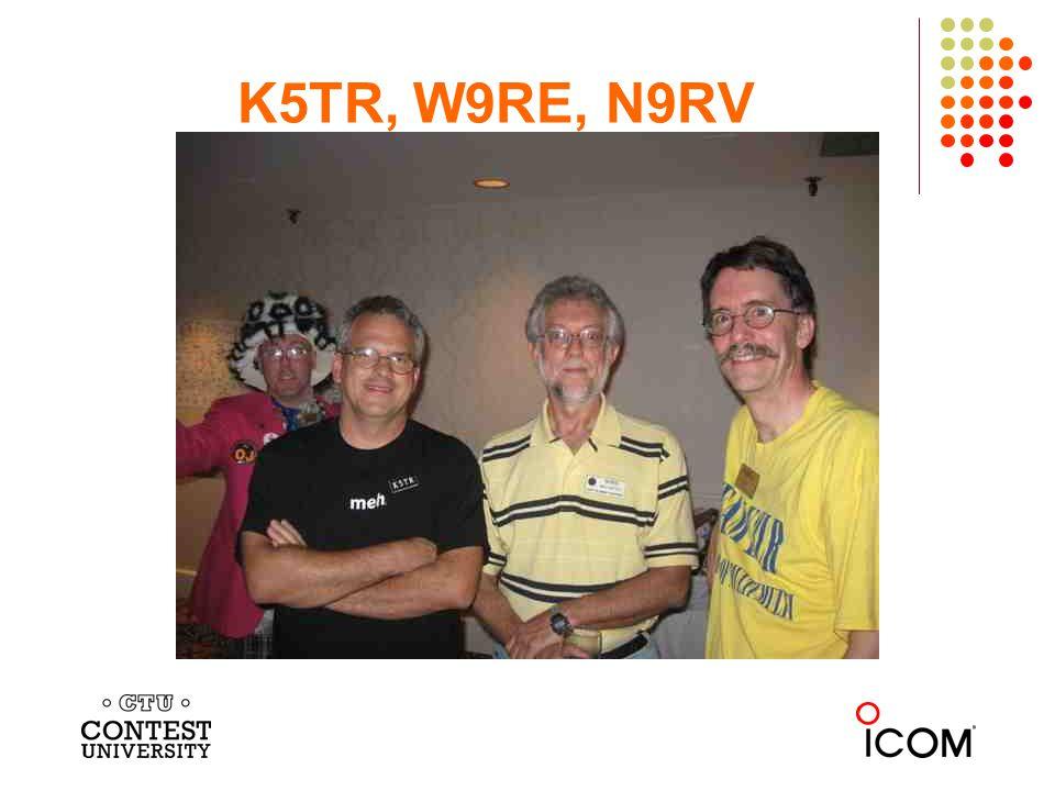 K5TR, W9RE, N9RV