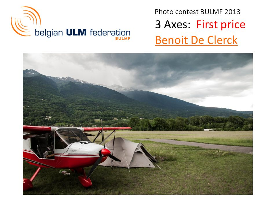 Photo contest BULMF Axes: First price Benoit De Clerck
