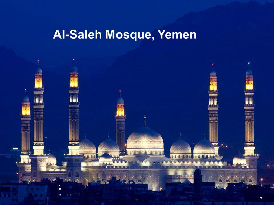 Al-Saleh Mosque, Yemen