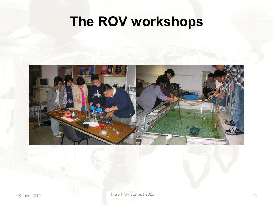 The Advanced Workshops The Advanced Workshops will introduce the concepts of waterproofing and using electronics underwater.
