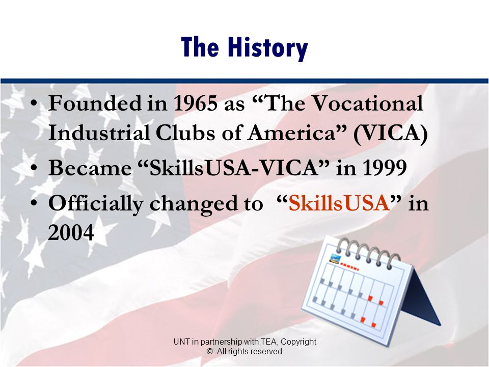 The SkillsUSA Advantage… Gives students a head start for college and the workforce SkillsUSA works directly with business and industry so students get the skills employers want.