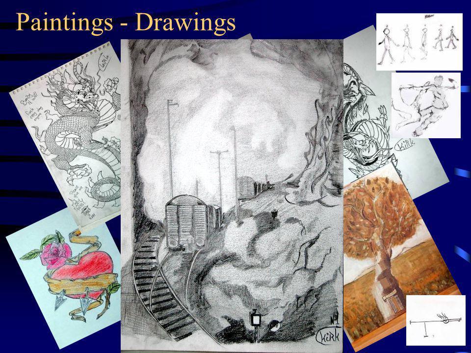 Paintings - Drawings