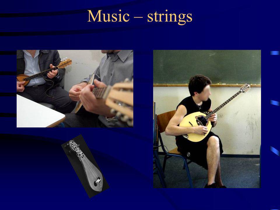 Music – strings
