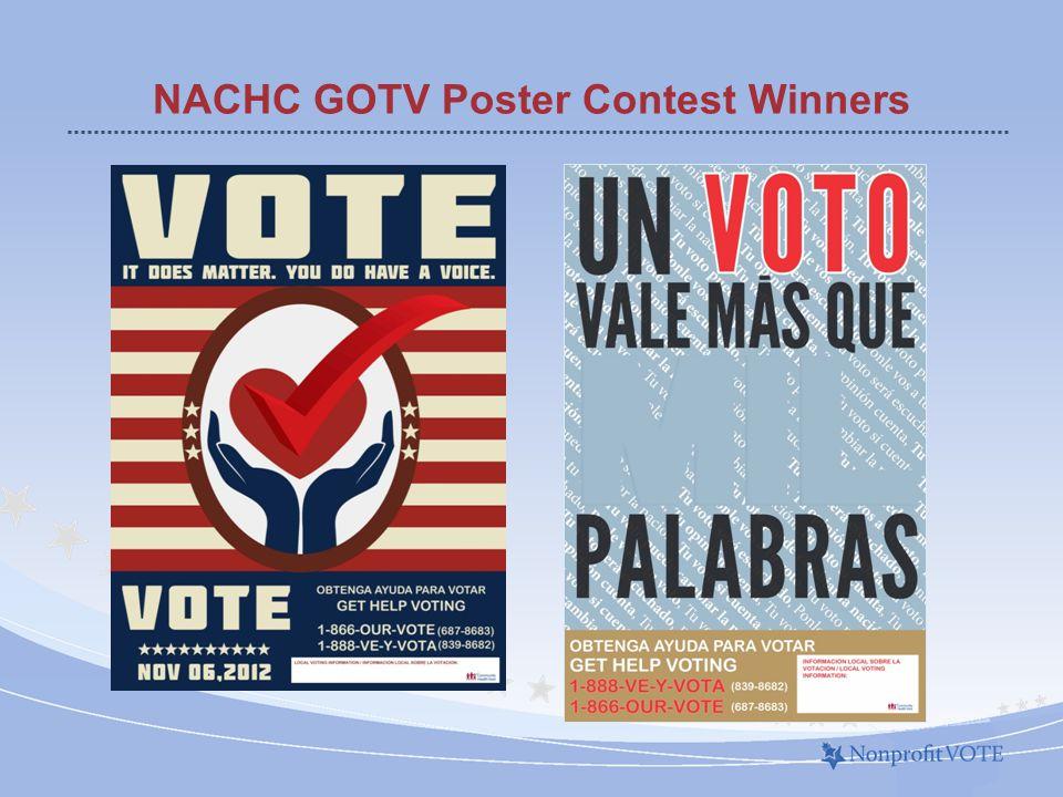 NACHC GOTV Poster Contest Winners