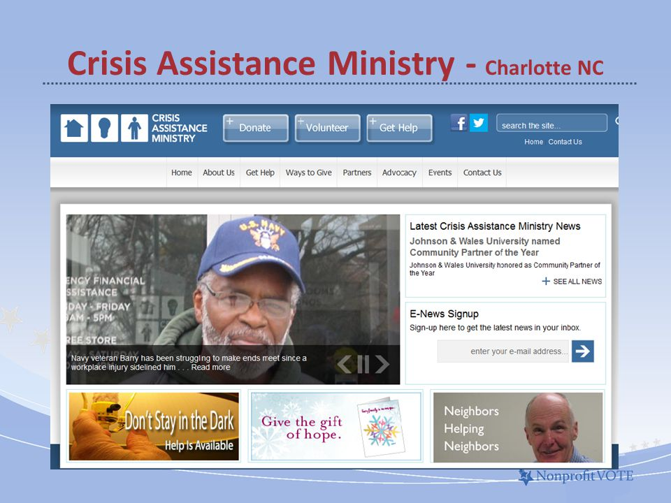 Crisis Assistance Ministry - Charlotte NC