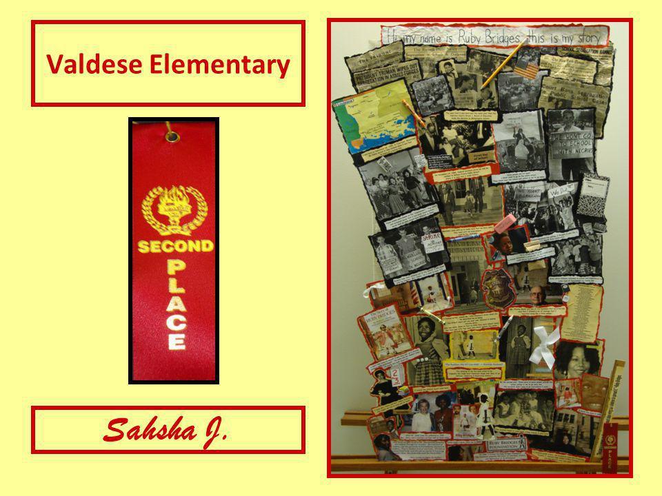 Valdese Elementary Sahsha J.