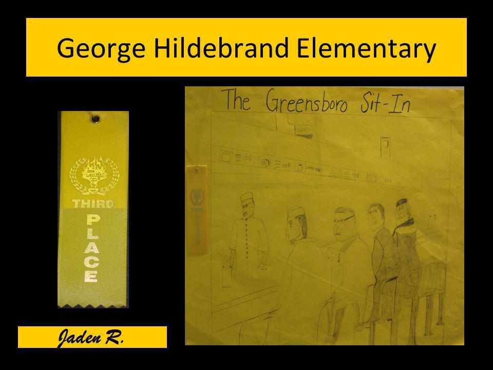 George Hildebrand Elementary Jaden R.