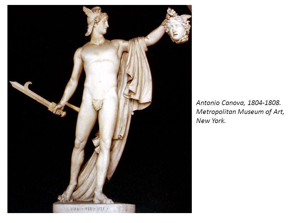 Antonio Canova, 1804-1808. Metropolitan Museum of Art, New York.
