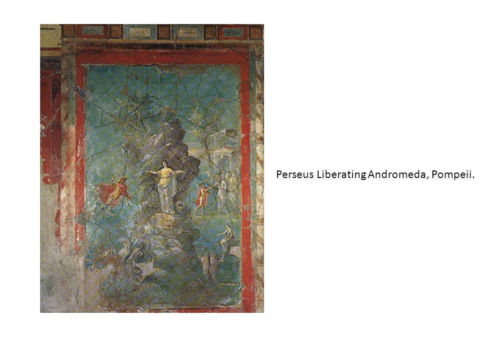 Perseus Liberating Andromeda, Pompeii.