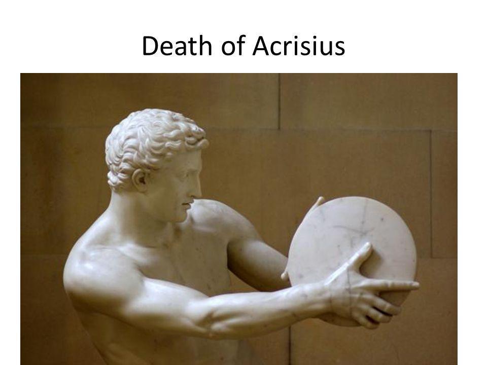Death of Acrisius