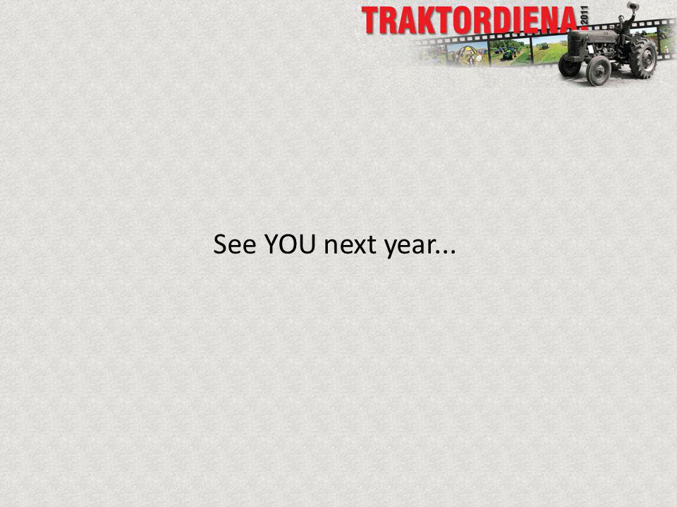 See YOU next year...