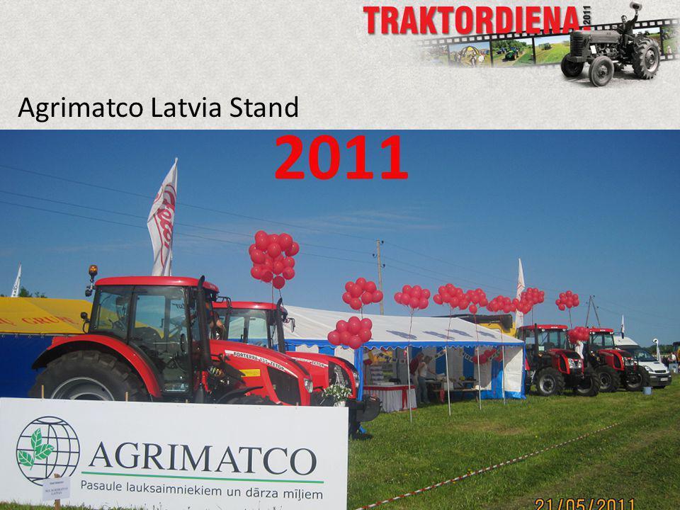 Agrimatco Latvia Stand 2011
